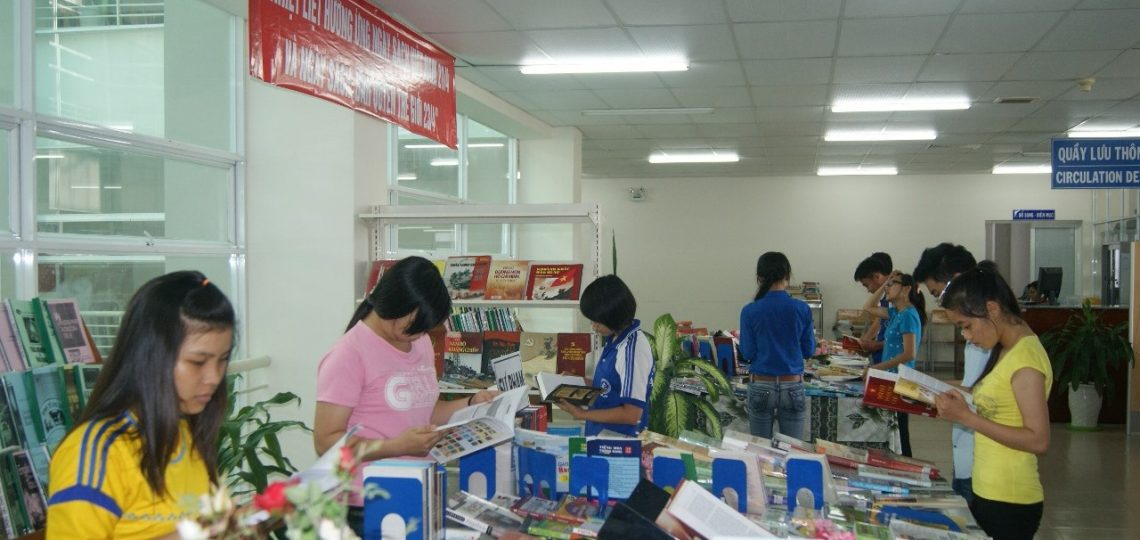 Book Exhibition in Book day of Vietnam